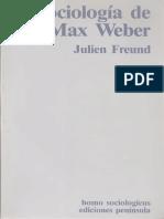 Freund Julien Sociologia de Max Weber