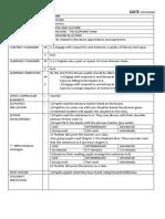 form 3 lesson plan