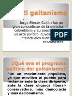 El gaitanismo.pptx