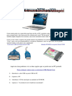 Manual Como Fazer Para Usar Um Conversor de USB