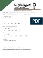 Examen Mensual de Raz 3