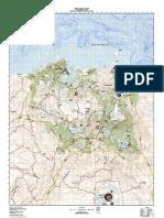 Skyrim Topographic Map
