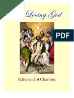 St. Bernard of Clairvaux-On Loving God