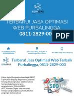 Terbaru! Jasa Optimasi Web Terbaik Purbalingga, 0811-2829-003