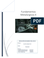 FUNDAMENTOS METALURGICOS II