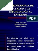 El Profesional y La Com Enfermo 23082010