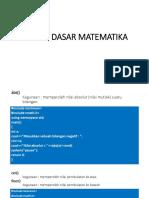 fungsimatematikaC++