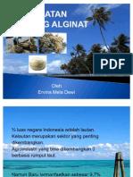 Pengolahan Alginat Dari Rumput Laut