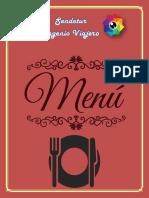 Menú-Sendetur Ingenio Viajero