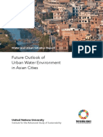Full Future Outlook of Urban Water Environment in Asian Cities