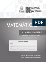 Matematicas IV DGB