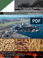 Alternatives for Using Biogas