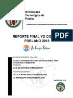 Reporte Final Yo Compro Poblano 2018