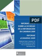 Informe eCanarias 2009