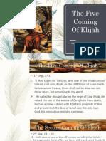 5 Coming of Elijah