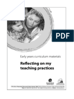 reflect teaching prac