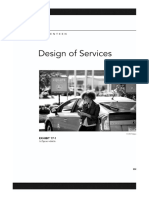 Design of Services