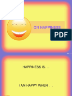 ON HAPPINESS.ppt