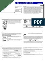 Instrucciones Casio Mudmaster Qw5463