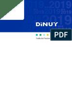 201901 Dinuy Tarifa 2019