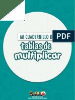 Super Cuadernillo Para Trabajar Las Tablas de Multiplicar