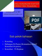 Hubungan  Dokter Pasien