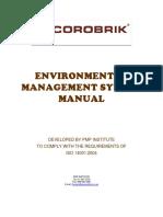Corobrik Environmental Management Manual