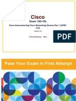 Cisco Full 100-105