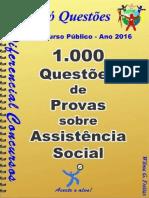 Apostila Exercícios  Assistência social