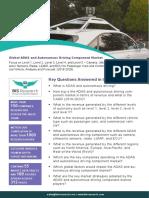 ADAS and Autonomous Driving Component Market