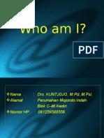 00. Who am I
