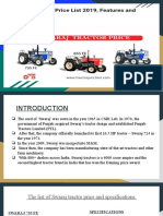 Swaraj Tractor Price List India