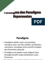 Paradigma Dan Paradigma Keperawatan