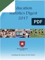 education statistics digest 2017