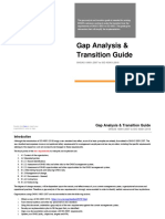 ISO 45001 Gap Analysis & Transition