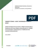 Analise Lei Altera Codigo IRPS_UEEFO