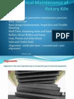 Mechanical Maintenance of Rotary Kiln.pptx