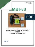 Manual EMBI 3