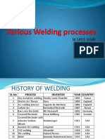 Welding Process Notes Best