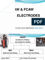 Consumables for MIG MAG & FCAW