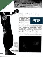 Forma-Sonata, La Musica, Sità e Vaccarone, Zanichelli