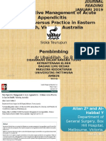 jurnal tatalaksana konservatif APP Estern Health