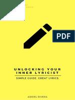 Unlocking Your Inner Lyricist by Adriel Rivera