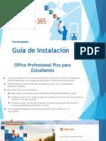Guia de Instalacion Para Office 365