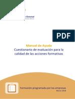 Manual Calidad Fundación Tripartita
