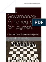 Data Governance. a Handy Book for Laymans