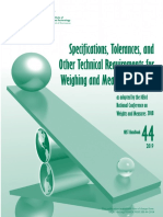 NIST.weighing and Measuring Devices