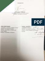 Juvenile Justice Welfare Act Senators Signature
