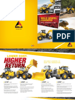 SDLG Wheel Loaders Full Line Product Brochure 2018