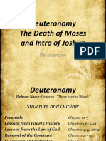 5. Deuteronomy and Death of Moses
